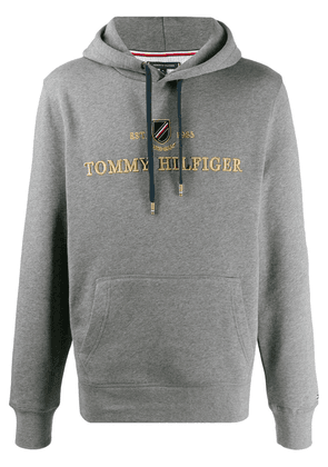 Tommy Hilfiger Icon embroidered logo hoodie - Grey