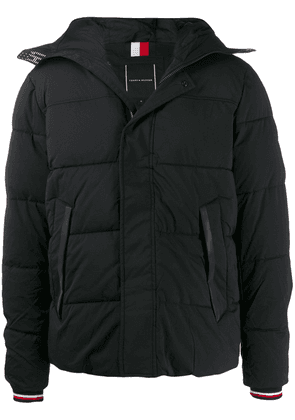 Tommy Hilfiger hooded puffer jacket - Black