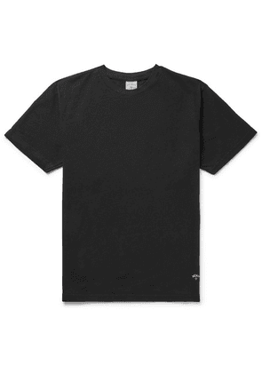 Noah - Recycled Cotton-jersey T-shirt - Black