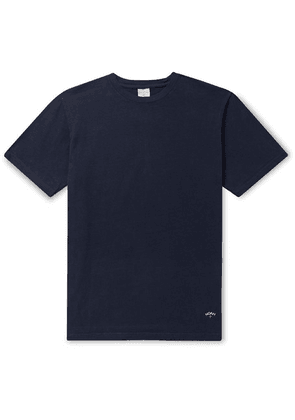 Noah - Recycled Cotton-jersey T-shirt - Navy