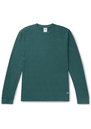 Noah - Recycled Cotton-jersey T-shirt - Green
