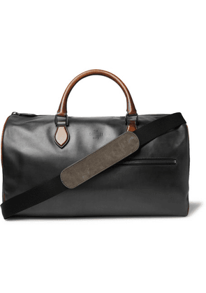 Berluti - Jour Off Small Leather Holdall - Black