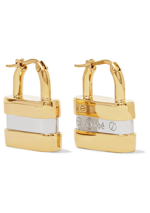 Chloé - Colleen Gold And Silver-tone Earrings - one size