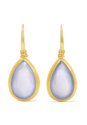 Marie-Hélène de Taillac - Medici 18-karat Gold Chalcedony Earrings - one size