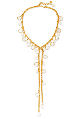 Loulou de la Falaise - Gold-plated, Glass And Pearl Necklace - one size