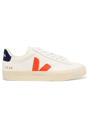 Veja - Campo Textured-leather Sneakers - White