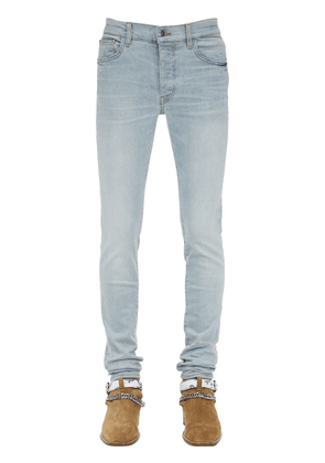 15cm Tapered Stack Cotton Denim Jeans