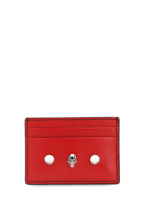 Bicolor Leather Card Holder