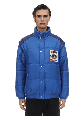 Matt Nylon Puffer Jacket
