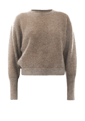 Soft Mohair And Wool Sweater