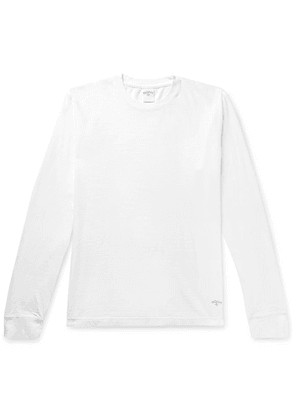 Noah - Recycled Cotton-jersey T-shirt - White