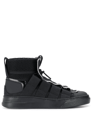 Bruno Bordese mesh high tops - Black