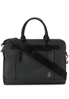 Tommy Hilfiger TH monogram briefcase - Black