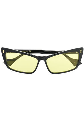 Gucci rectangular sunglasses - Black