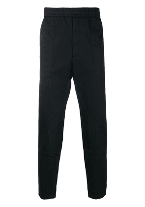 Gucci embroidered logo track pants - Blue
