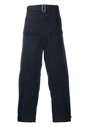 JW Anderson fold-front utility trousers - Blue