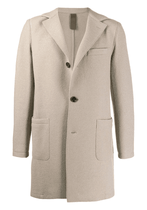 Eleventy short single breasted coat - NEUTRALS