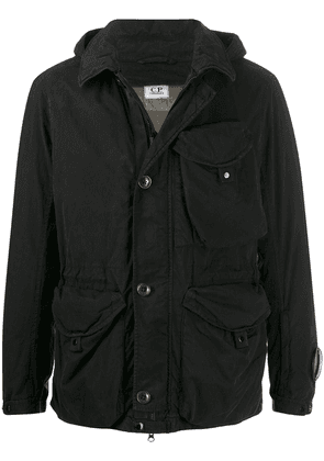 CP Company M Bossed utility jacket - Black