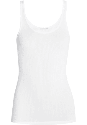 James Perse - The Daily Ribbed Stretch-cotton Tank - White