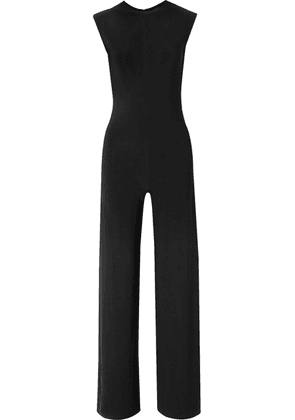 Norma Kamali - Stretch-jersey Jumpsuit - Black