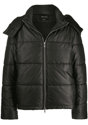 Odeur oversized padded jacket - Black