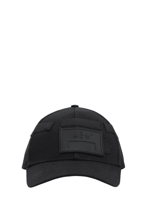 Techno Baseball Hat W/ Patches