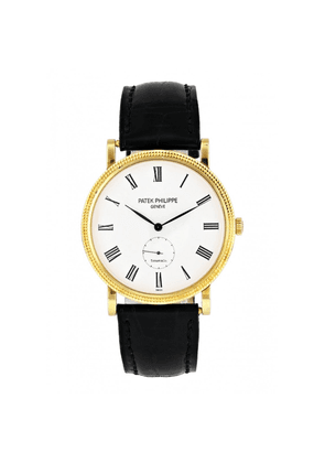 Calatrava 5119J Tiffany & Co. Dial Yellow Gold Mens Watch