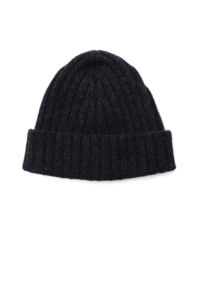 Maison Margiela Charcoal Grey Wool Beanie