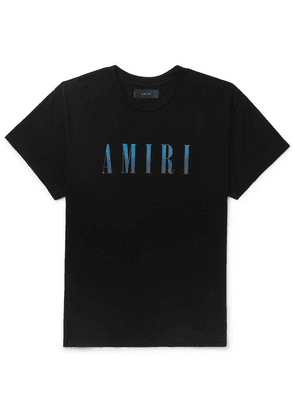 AMIRI - Logo-print Cotton-jersey T-shirt - Black