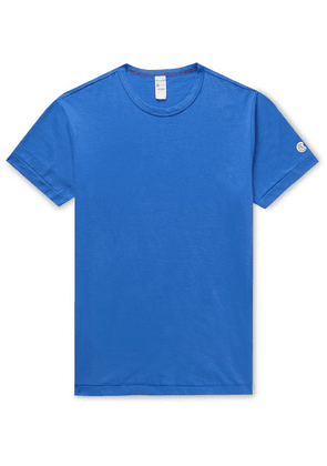 Todd Snyder + Champion - Cotton-jersey T-shirt - Blue