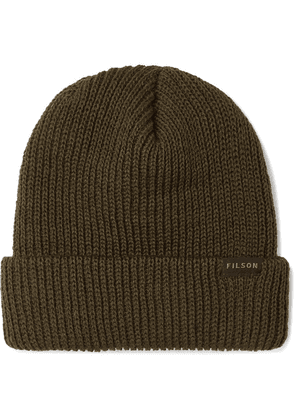 Filson - Ribbed Wool Beanie - Green