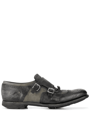 Church's distressed effect monk shoes - Black