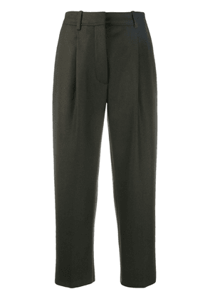 Acne Studios cropped trousers - Green