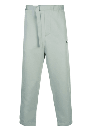 OAMC tapered belted trousers - Blue