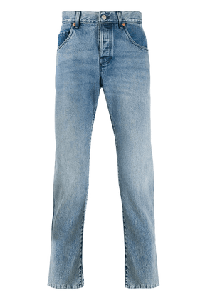 Gucci straight-leg slim-fit jeans - Blue