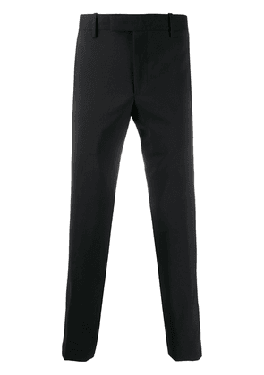Paul Smith tapered-leg tailored trousers - Black