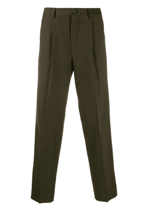 PS Paul Smith tapered-leg tailored trousers - Green