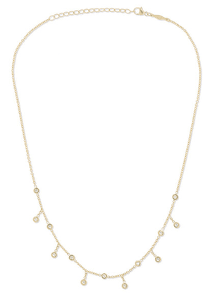 Jacquie Aiche - Spaced Out 14-karat Gold Diamond Necklace - one size