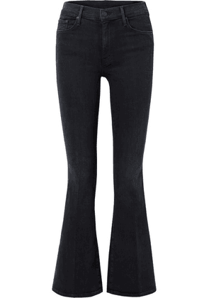 Mother - The Weekender High-rise Flared Jeans - Black