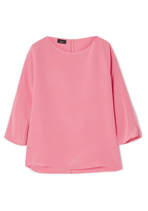 Akris - Silk Crepe De Chine Top - Pink
