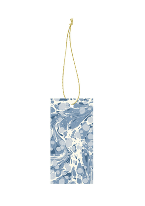 Set Of 6 Marbling Gift Tags