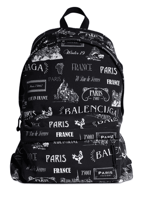 All Over Printed Nylon Backpack