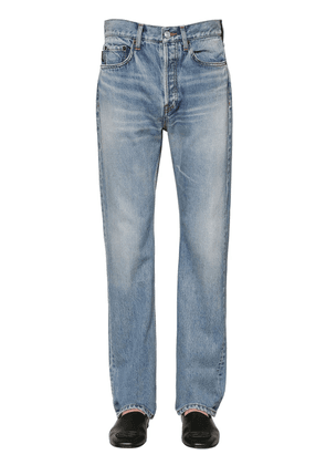 22cm Cotton Denim Jeans