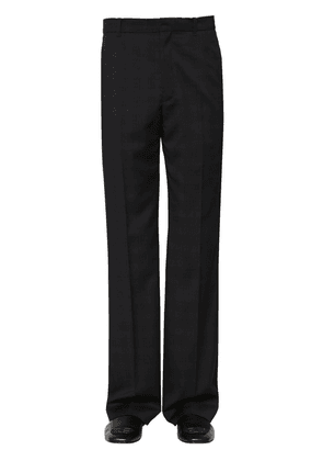 Tailored Prince Of Wales Wool Pants