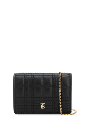 Jessie Quilted Leather Chain Wallet