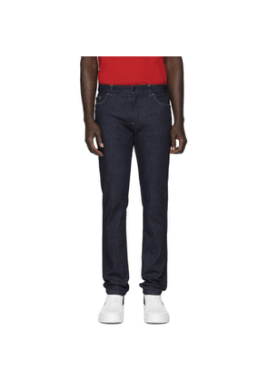 Fendi Indigo Stretch Slim Fit Jeans