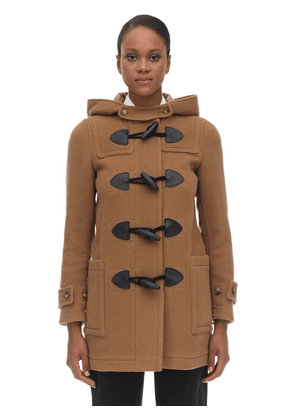 Panel Wool Blend Coat