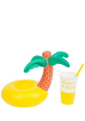 Inflatable Tropical Island Drink Holder