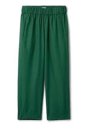 Amelia Woven Trousers - Green