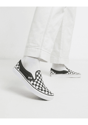 Vans Classic Slip-On trainers checkerboard in green